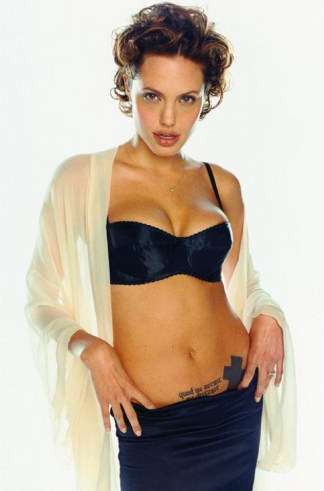 Jolie'nin şok pozları - 25
